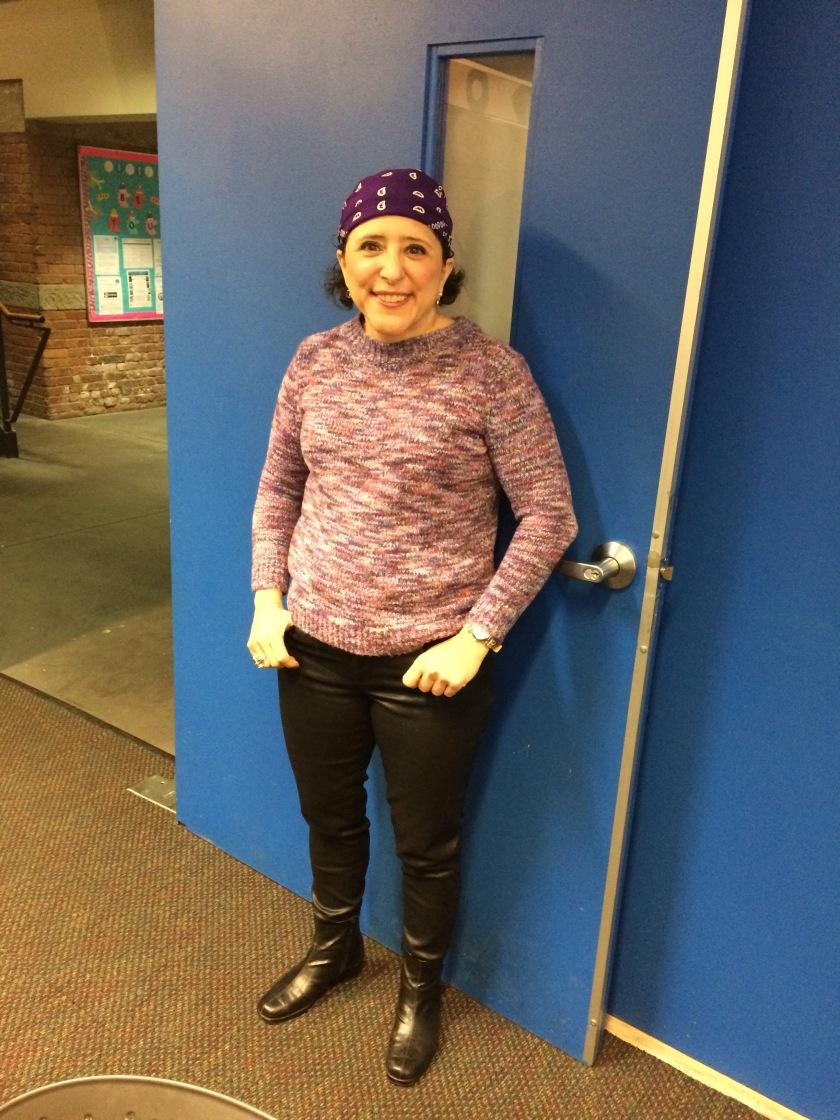 bandanna purple photo